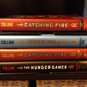 Yes that is an ARC of Catching Fire, and no you can not have it!